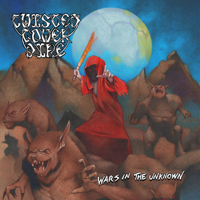 TWISTED TOWER DIRE - Wars in the Unknown cover