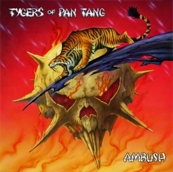 TYGERS OF PAN TANG - Ambush cover