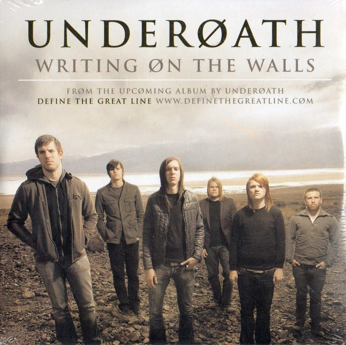 UNDEROATH - Writing On The Walls cover