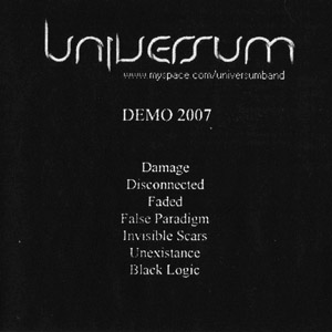 UNIVERSUM - Demo 2007 cover