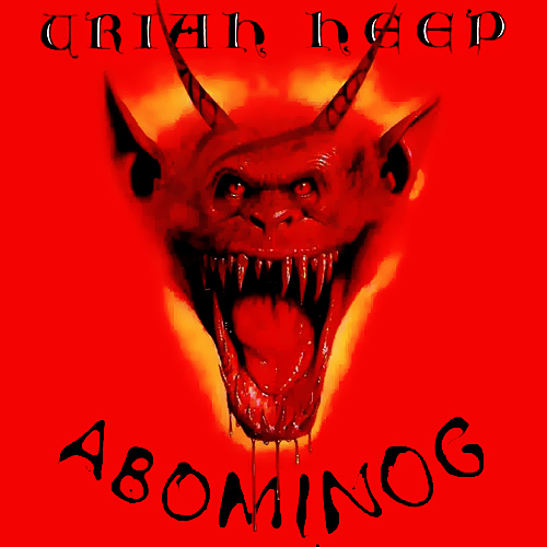 URIAH HEEP - Abominog cover