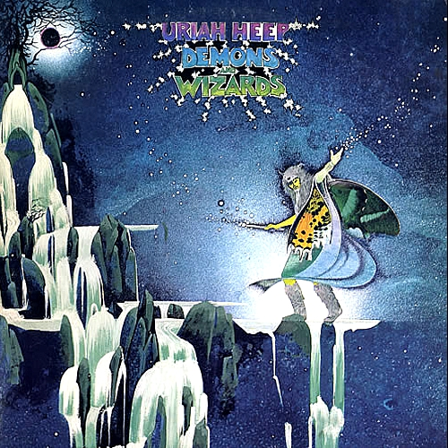URIAH HEEP - Demons And Wizards cover