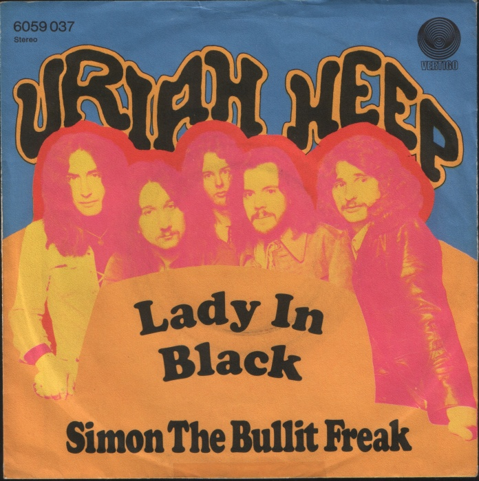 uriah black singles Lyrics to lady in black song by uriah heep: she came to me one morning one lonely sunday morning her long hair flowing in the midwinter wind i k.