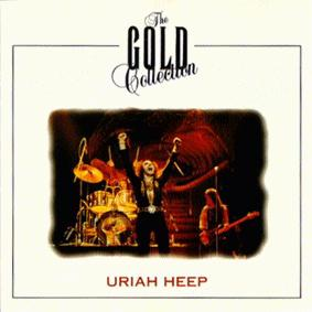 URIAH HEEP - The Gold Collection (Germany) cover