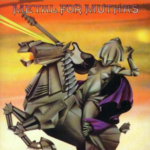 VARIOUS ARTISTS (GENERAL) - Metal for Muthas cover