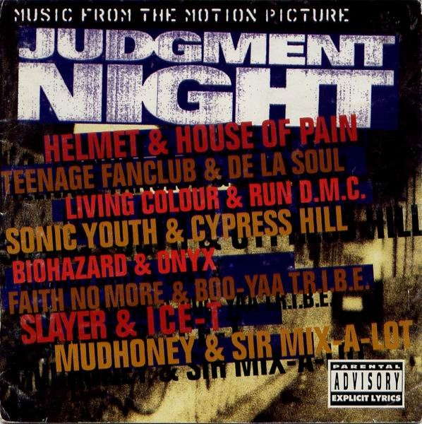 VARIOUS ARTISTS (SOUNDTRACKS) - Judgment Night (Music From The Motion Picture) cover