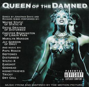 VARIOUS ARTISTS (SOUNDTRACKS) - Queen Of The Damned (Music From And Inspired By The Motion Picture) cover