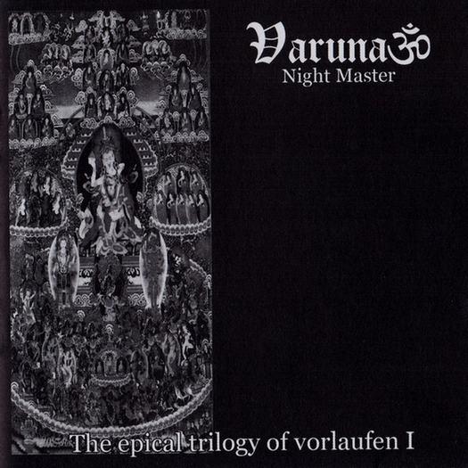 VARUNA - The Epical Trilogy of Vorlaufen I: Night Master cover