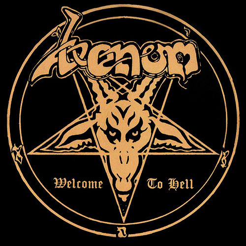 VENOM - Welcome to Hell cover