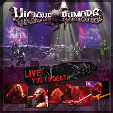 VICIOUS RUMORS - Live You To Death cover