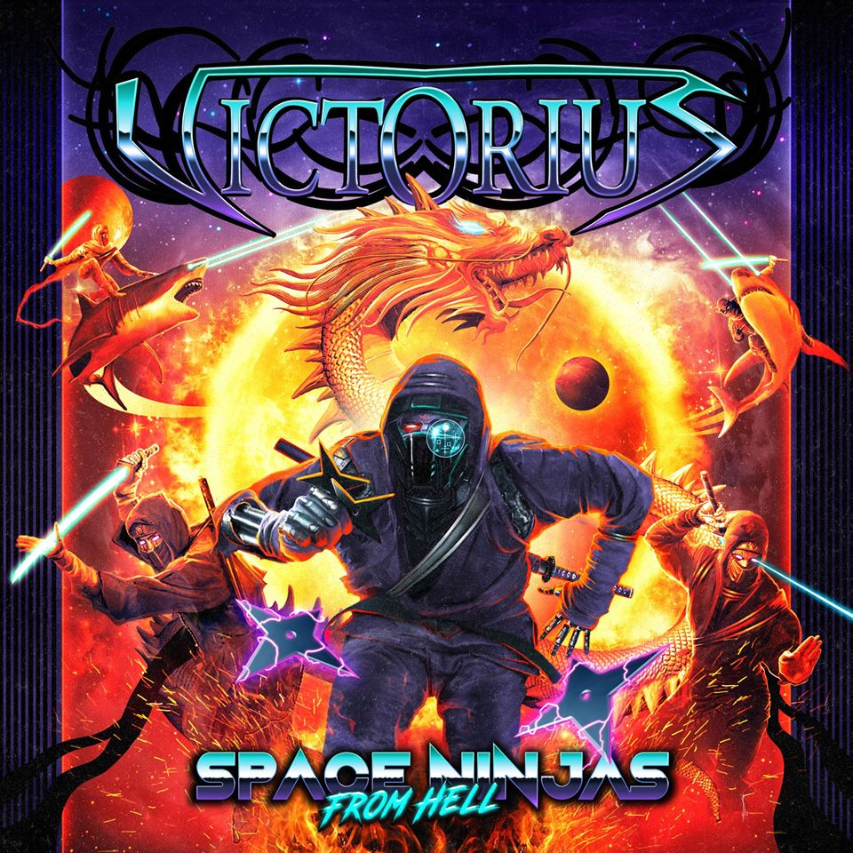 VICTORIUS - Space Ninjas From Hell cover