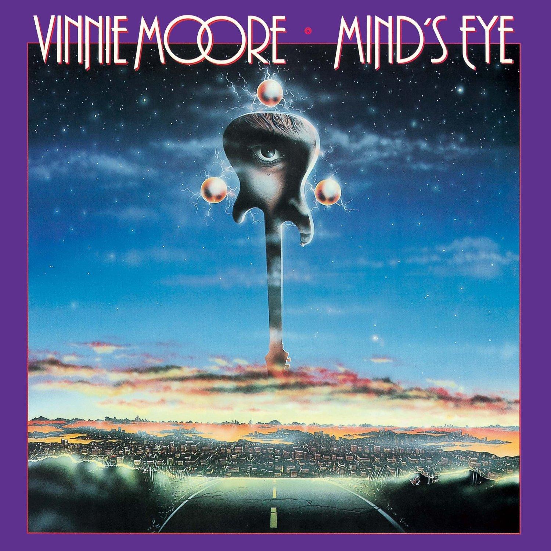 VINNIE MOORE - Mind's Eye cover