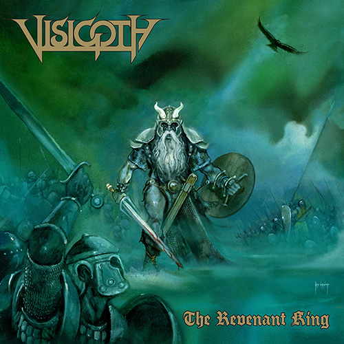 VISIGOTH - The Revenant King cover