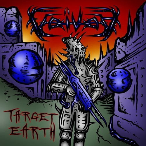 VOIVOD - Target Earth cover