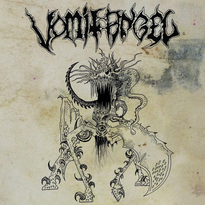 VOMIT ANGEL - Sadomatic Evil cover