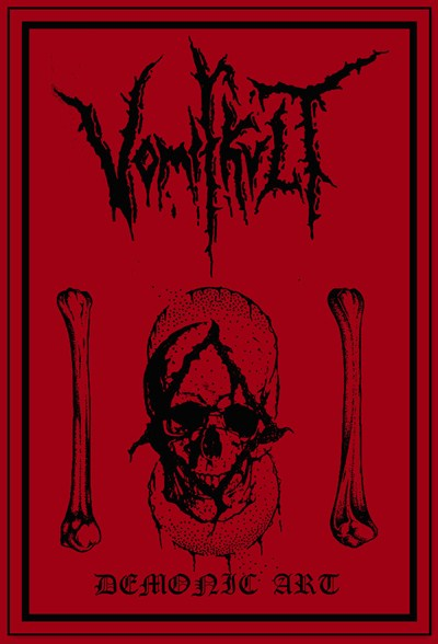 VOMIT KULT - Demonic Art cover