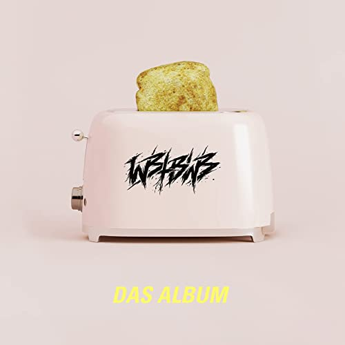 WE BUTTER THE BREAD WITH BUTTER - Das Album cover