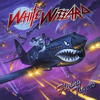 WHITE WIZZARD - Flying Tigers cover