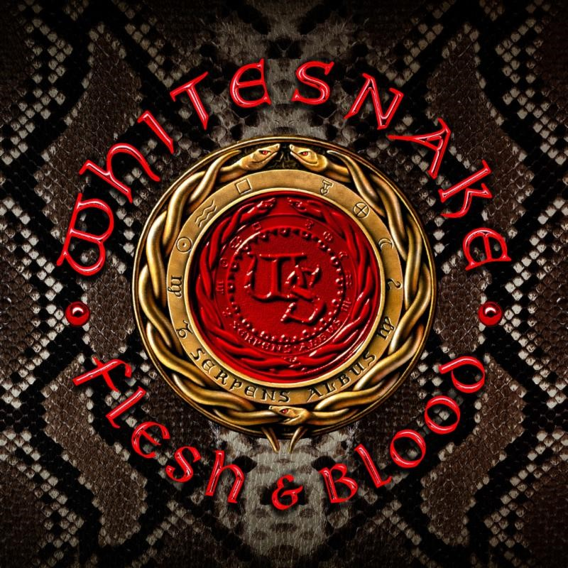 WHITESNAKE - Flesh & Blood cover