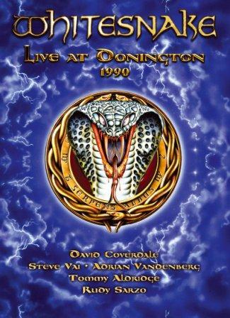 WHITESNAKE - Live At Donington 1990 cover