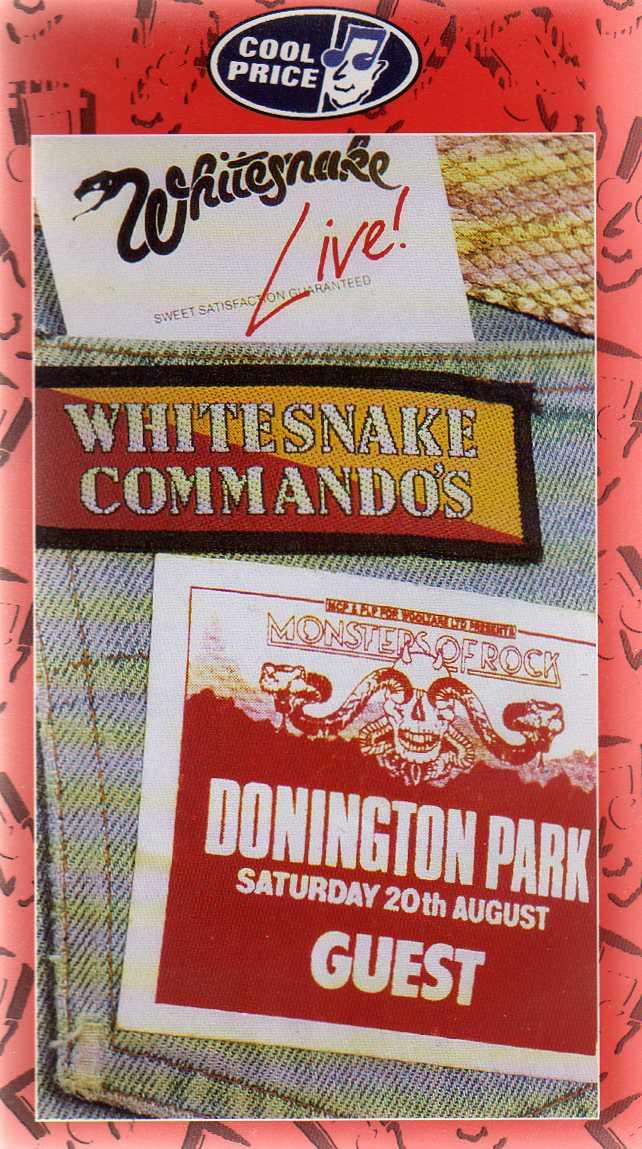 WHITESNAKE - Whitesnake Commandos cover