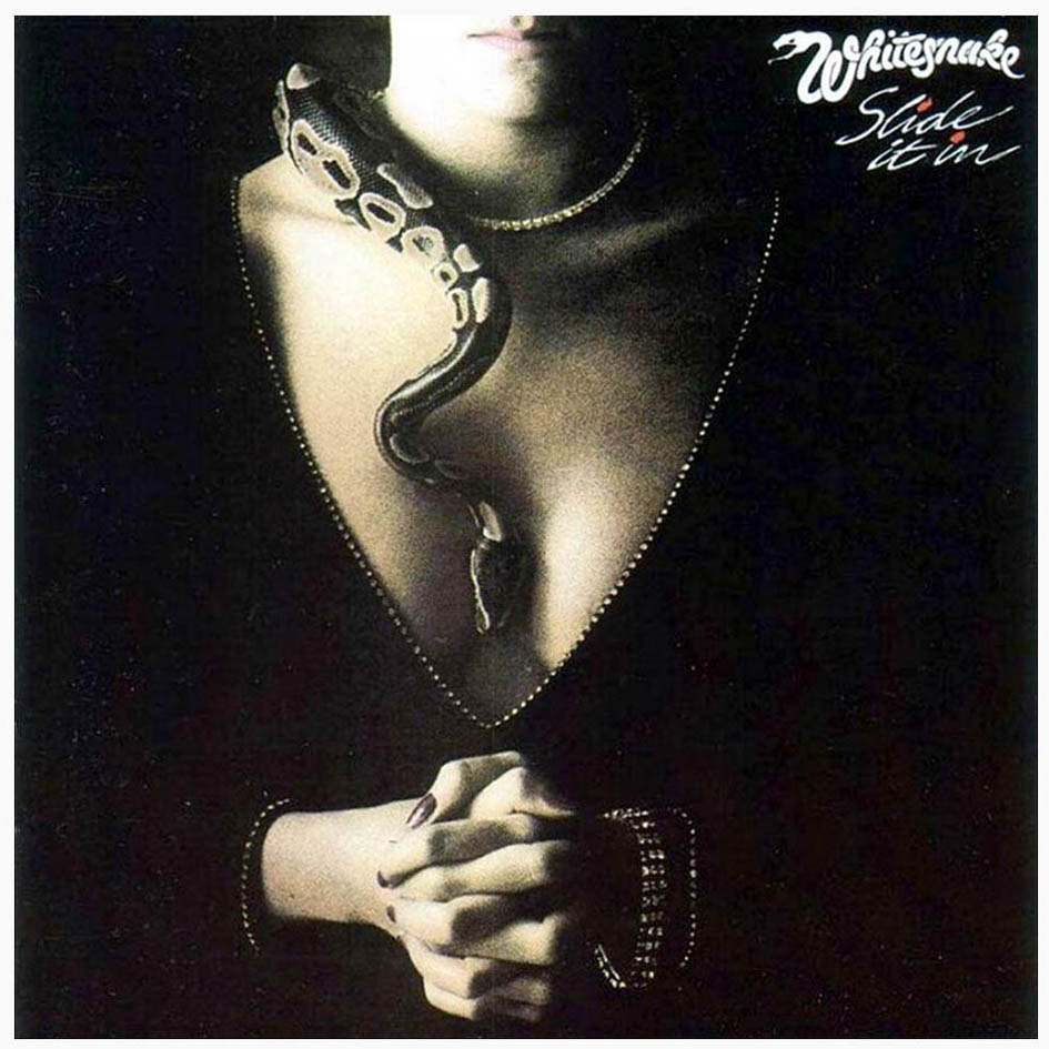 WHITESNAKE - Slide It In cover