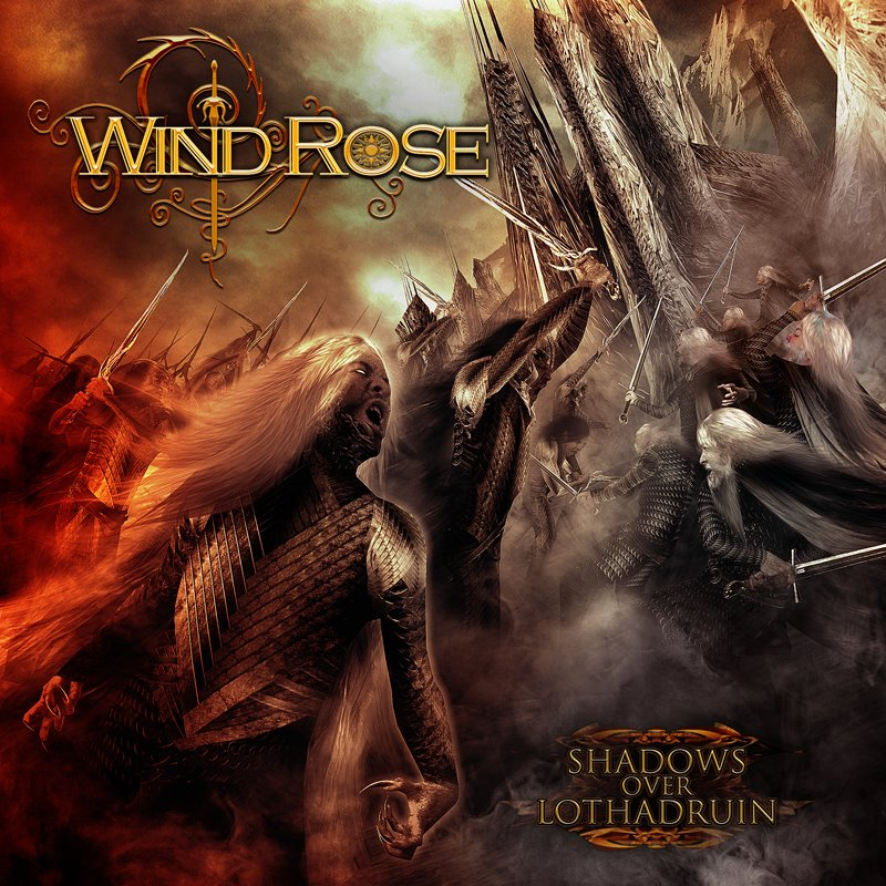 WIND ROSE - Shadows Over Lothadruin cover 