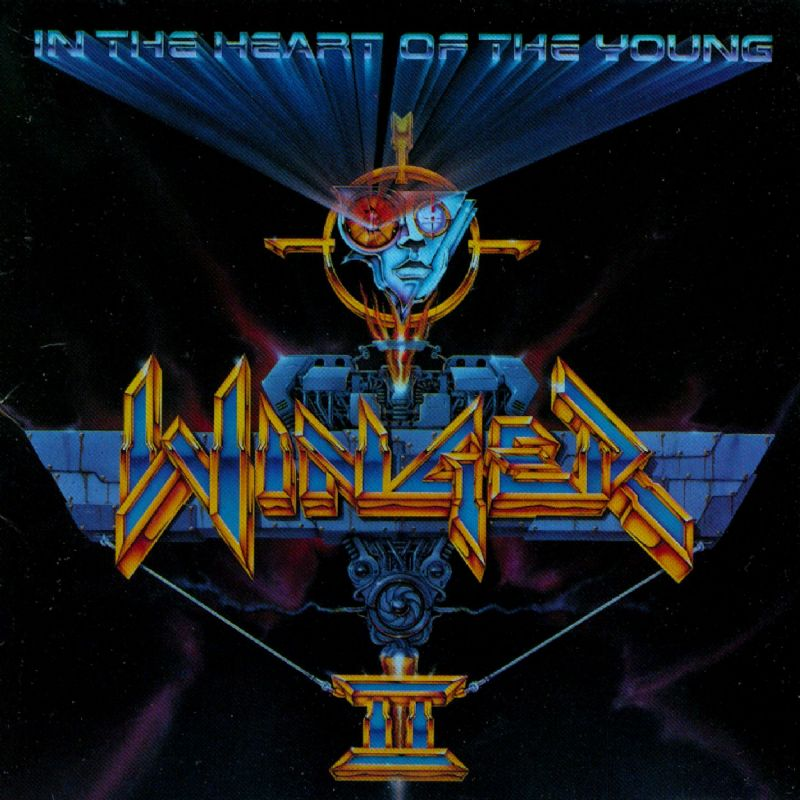 WINGER - In The Heart Of The Young cover