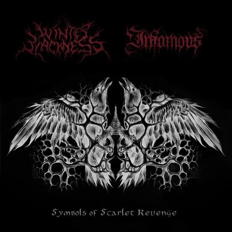 WINTER BLACKNESS - Symbols of Scarlet Revenge cover