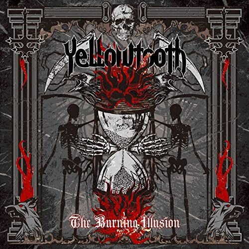YELLOWTOOTH - The Burning Illusion cover