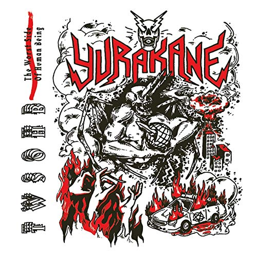 YURAKANE - The Worst Side Of Human Being cover