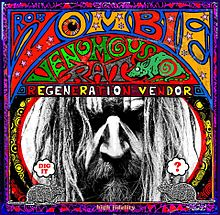 ROB ZOMBIE - Venomous Rat Regeneration Vendor cover