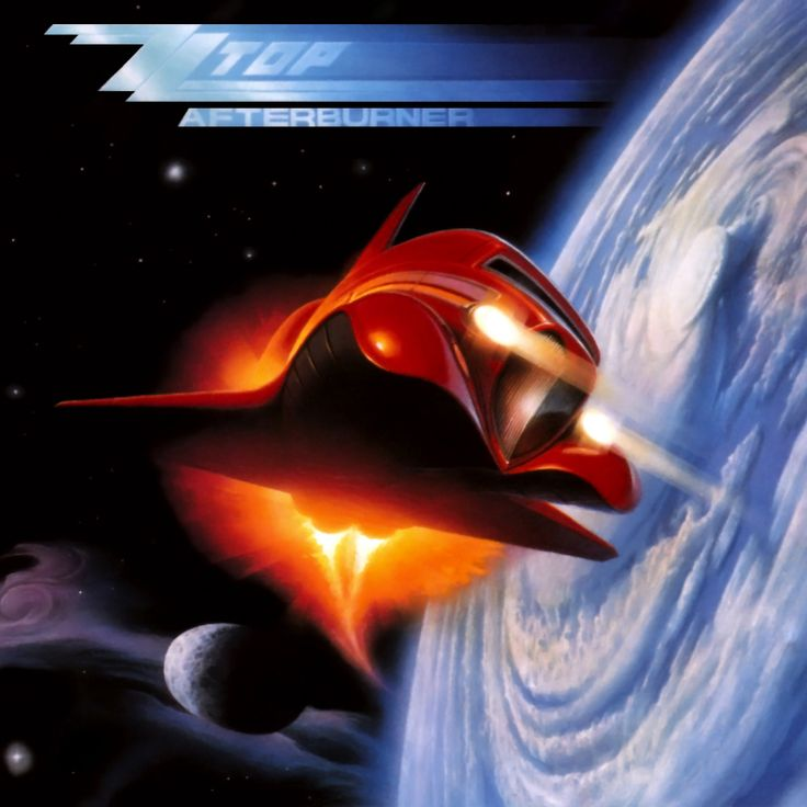 ZZ TOP - Afterburner cover