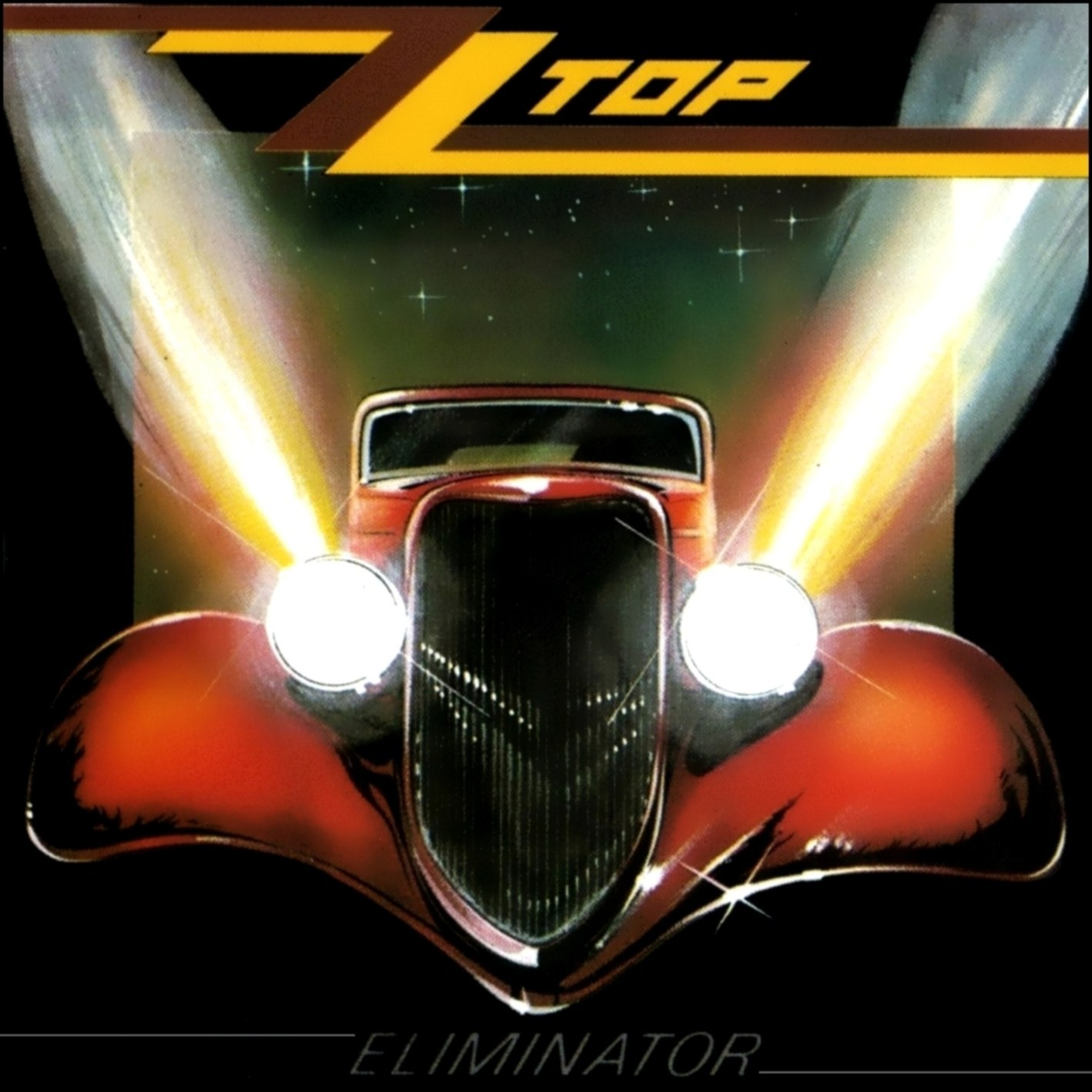 ZZ TOP - Eliminator cover
