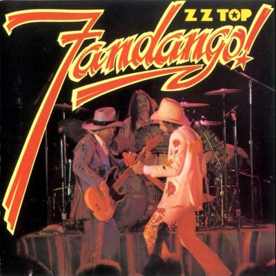 ZZ TOP - Fandango! cover