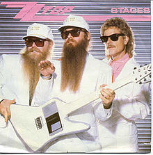 ZZ TOP - Stages cover