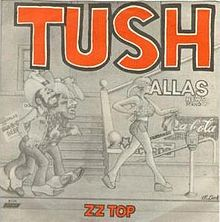 ZZ TOP - Tush cover