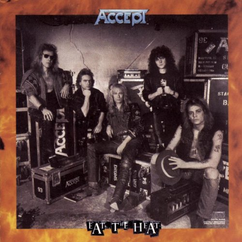 ACCEPT - Eat the Heat cover