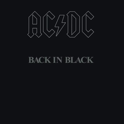 AC/DC - Back In Black cover