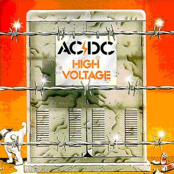 AC/DC - High Voltage cover