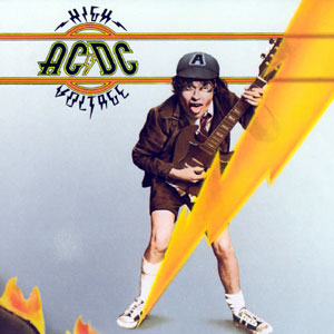 AC/DC - High Voltage (International Version) cover