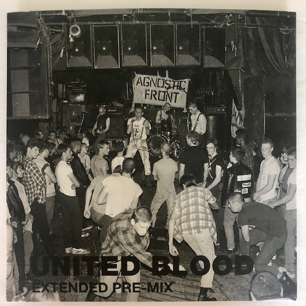 AGNOSTIC FRONT - United Blood Extended Pre-Mix cover