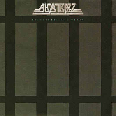ALCATRAZZ - Disturbing the Peace cover