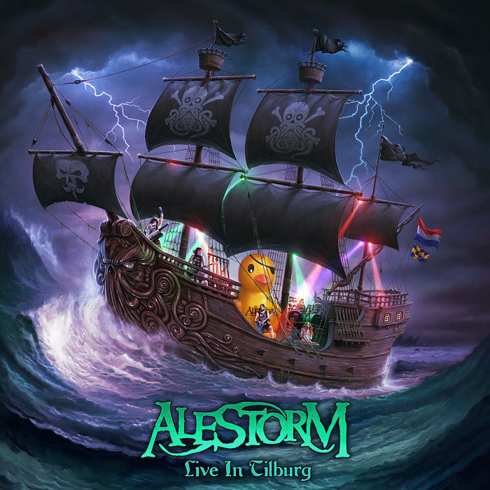 ALESTORM - Live in Tilburg cover