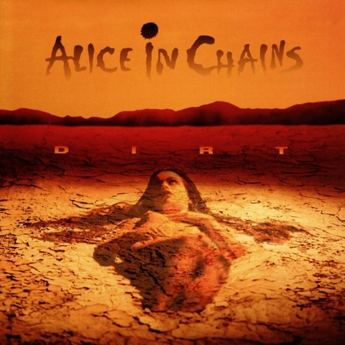 ALICE IN CHAINS - Dirt cover