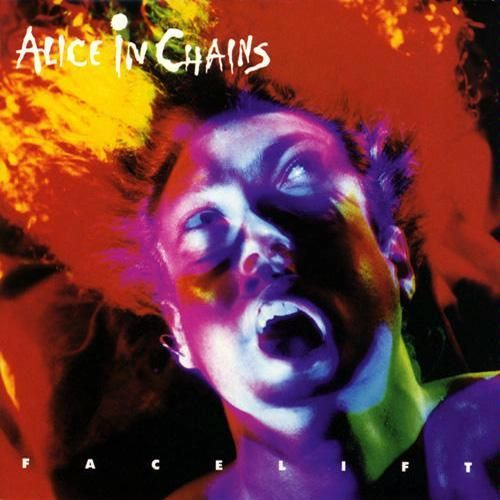 ALICE IN CHAINS - Facelift cover