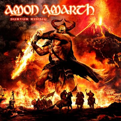 AMON AMARTH - Surtur Rising cover