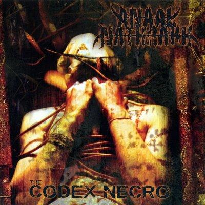 ANAAL NATHRAKH - The Codex Necro cover