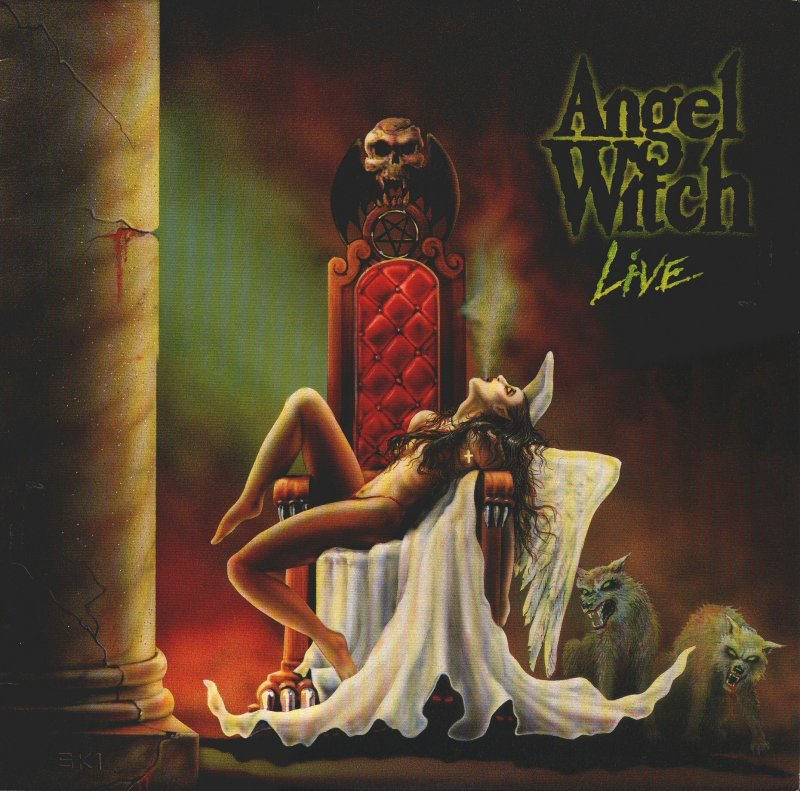 ANGEL WITCH - Angel Witch Live cover