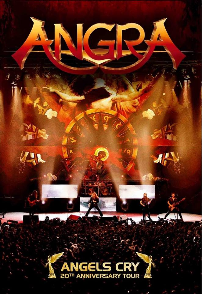 ANGRA - Angels Cry: 20th Anniversary Tour cover